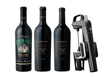Rutherford Reserve Cabernet Vertical Virtual Tasting Package with Coravin