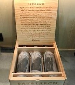 2014 Patriarch Cabernet Sauvignon 3-pack in Wooden Case